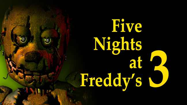 Five Nights at Freddy's 3 Demo Free Download APK