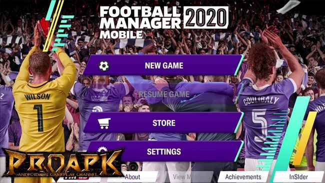 Football Manager 2020 Mobile Free Download APK