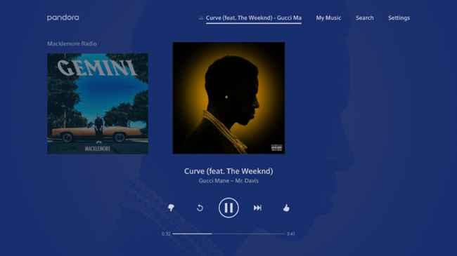Pandora Music for TV Free Download APK