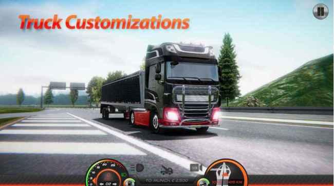 Truck Simulator : Europe 2 Free Download APK