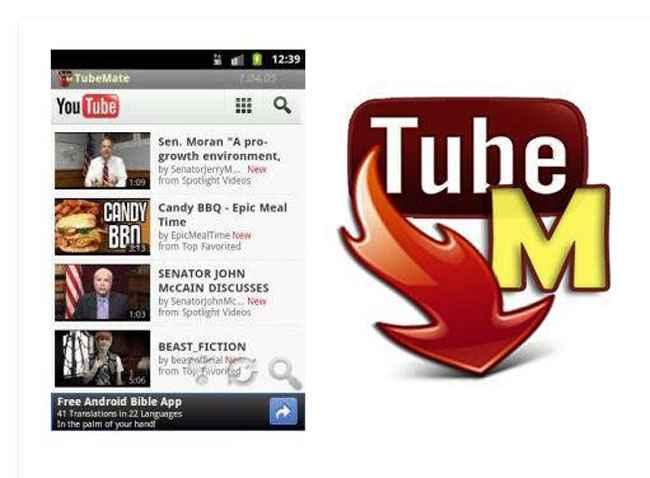 TubeMate Free Download apk
