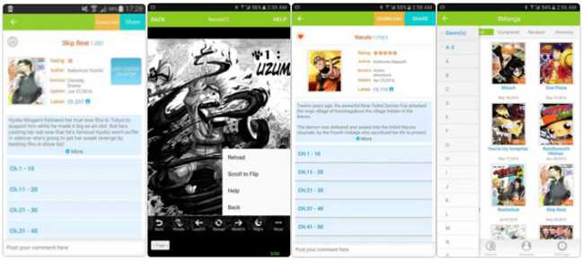8Manga for android download at apk open