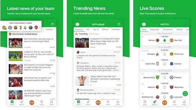All Football - Latest News & Live Scores Free Download APK