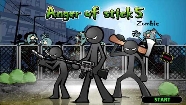 Anger of stick 5 : zombie download free for android