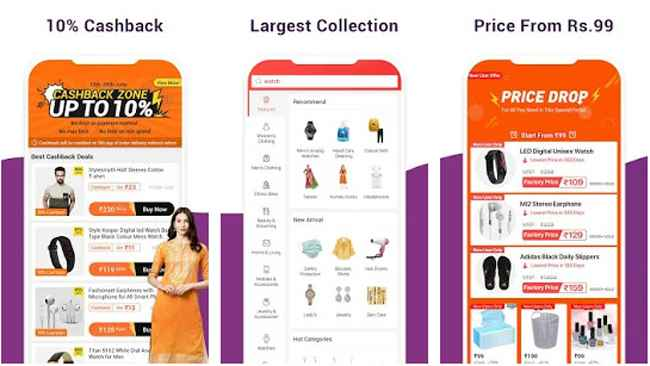 Club Factory Online Shopping App Free Download APK