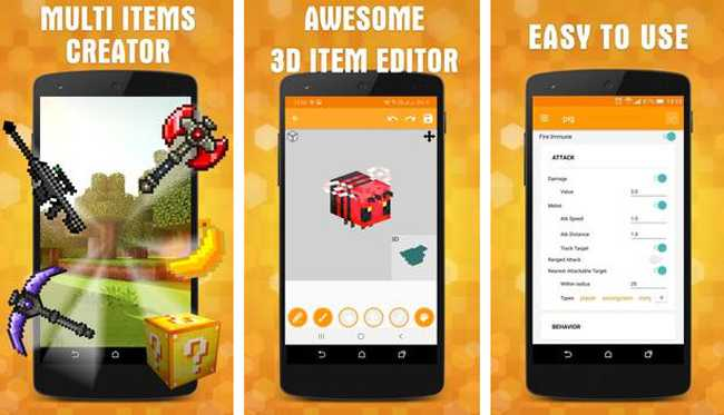 AddOns Maker for Minecraft PE APK free download game for android
