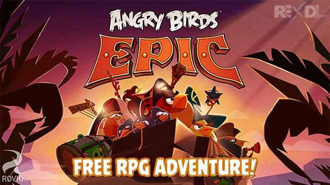 Angry Birds Epic RPG Free Download APK