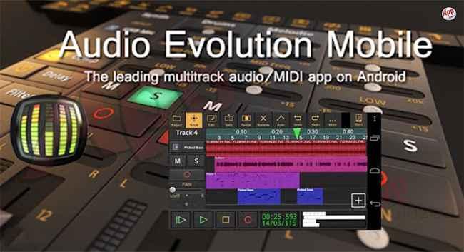 Audio Evolution Mobile Studio Free Download APK