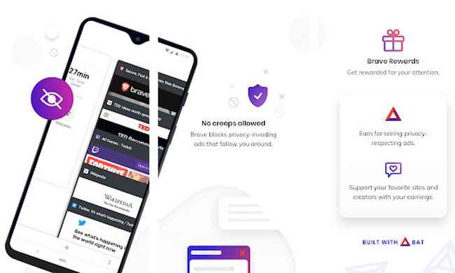 Brave Private Browser: Fast, secure web browser Free Download APK