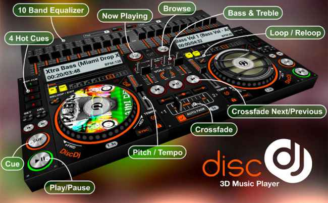 DiscDj 3D Free Download APK
