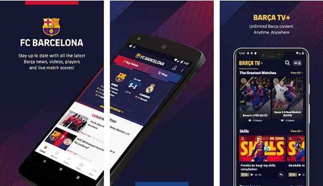 FC Barcelona Official App Free Download APK