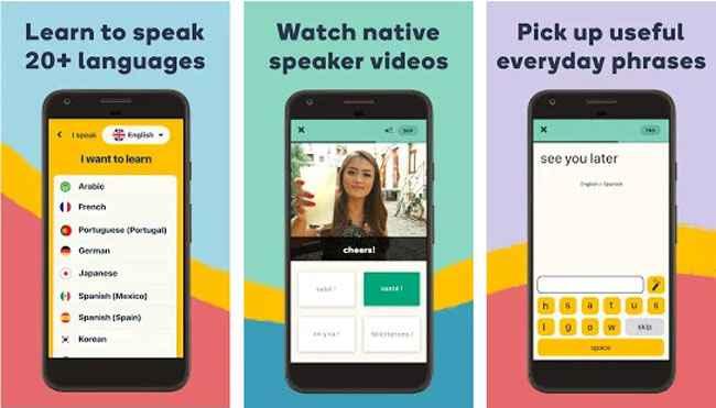 Language Learning - Spanish, Korean, French & More Free Download APK