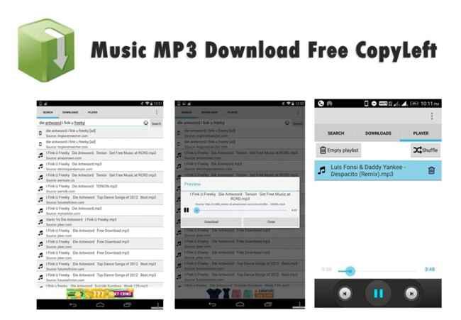 Music MP3 Download Free CopyLeft Free Download